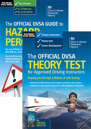 DVSA Theory Test preparation pack. Pass Part 1 for very little outlay